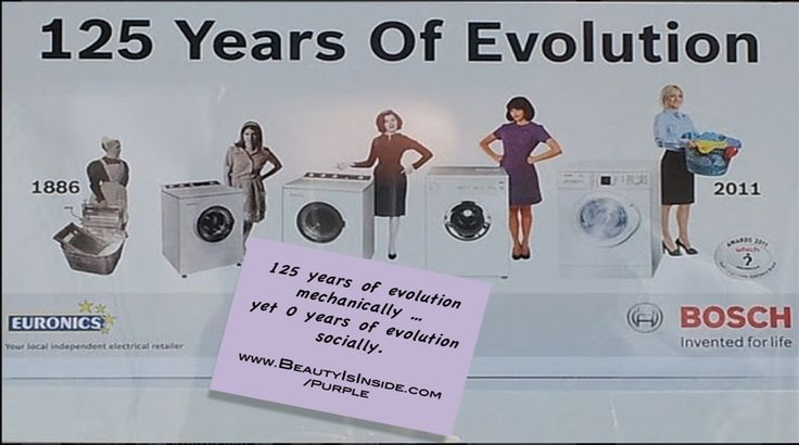 Throughout All Of The Pictures Of The Evolution Of Washing