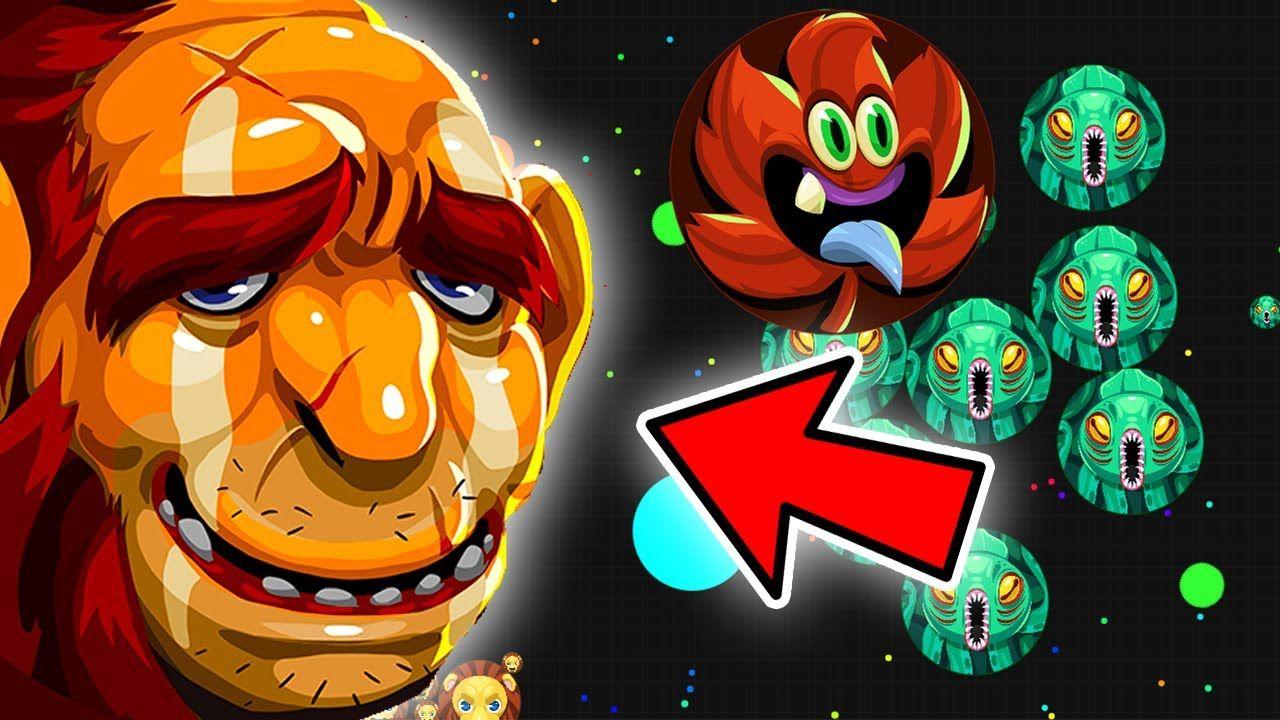 Agar.io Epic Troll New Skin Update Eye of The Void Agario Best Moments - YouTube