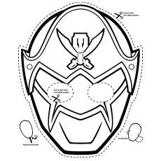 Top 25 Free Printable Power Rangers Megaforce Coloring