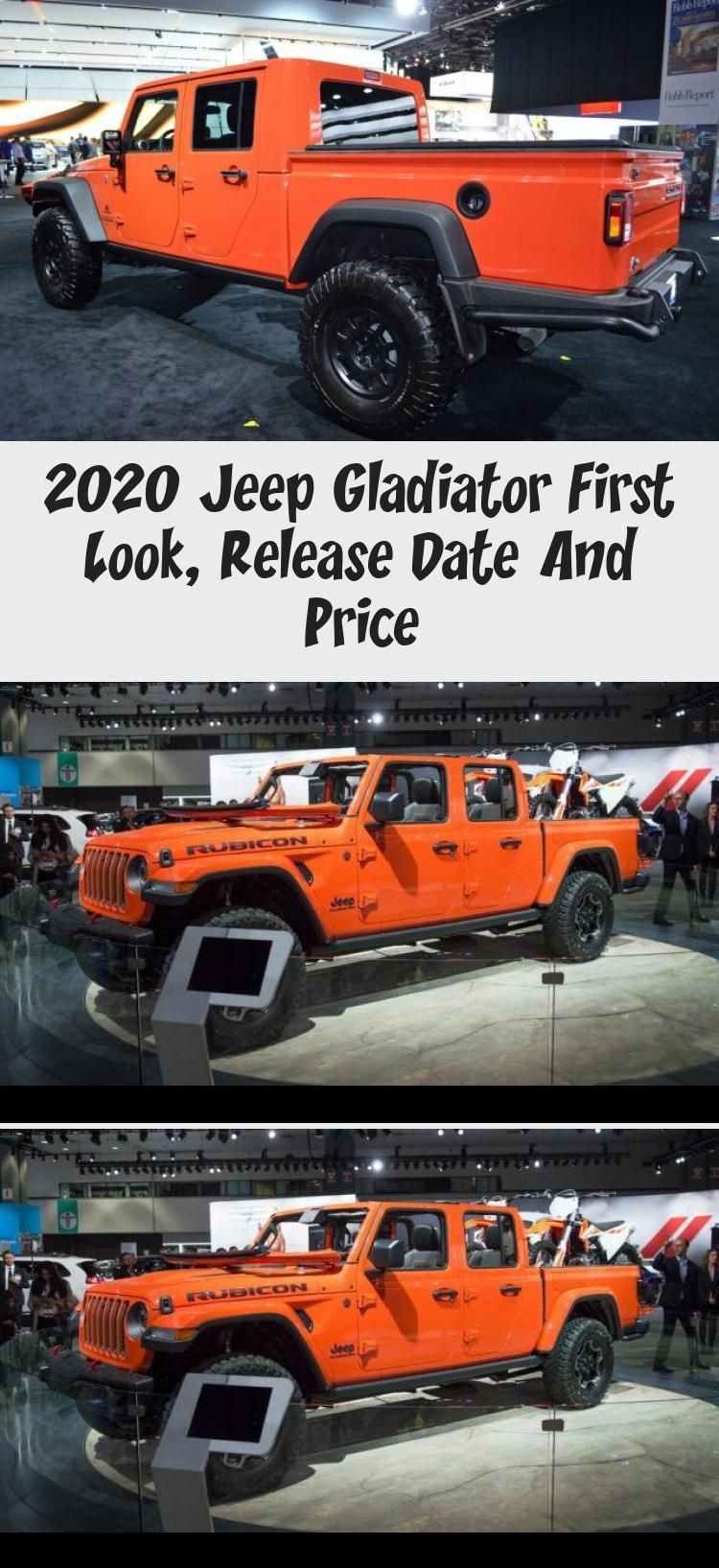 Jeep Gladiator 2020 Price Price And Release Date Di 2020 Rubicon Offroad Motocross