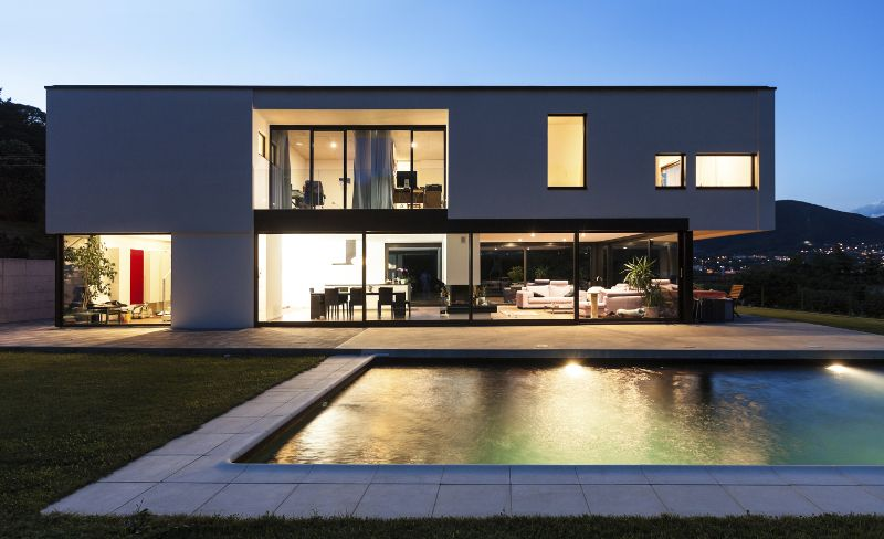 Modernity and Luxurious House Design in Exquisite Residence, the