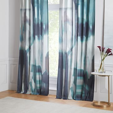 Cotton Seaglass Curtains Set Of 2 Living Room Decor Curtains Dining Room Curtains Curtains