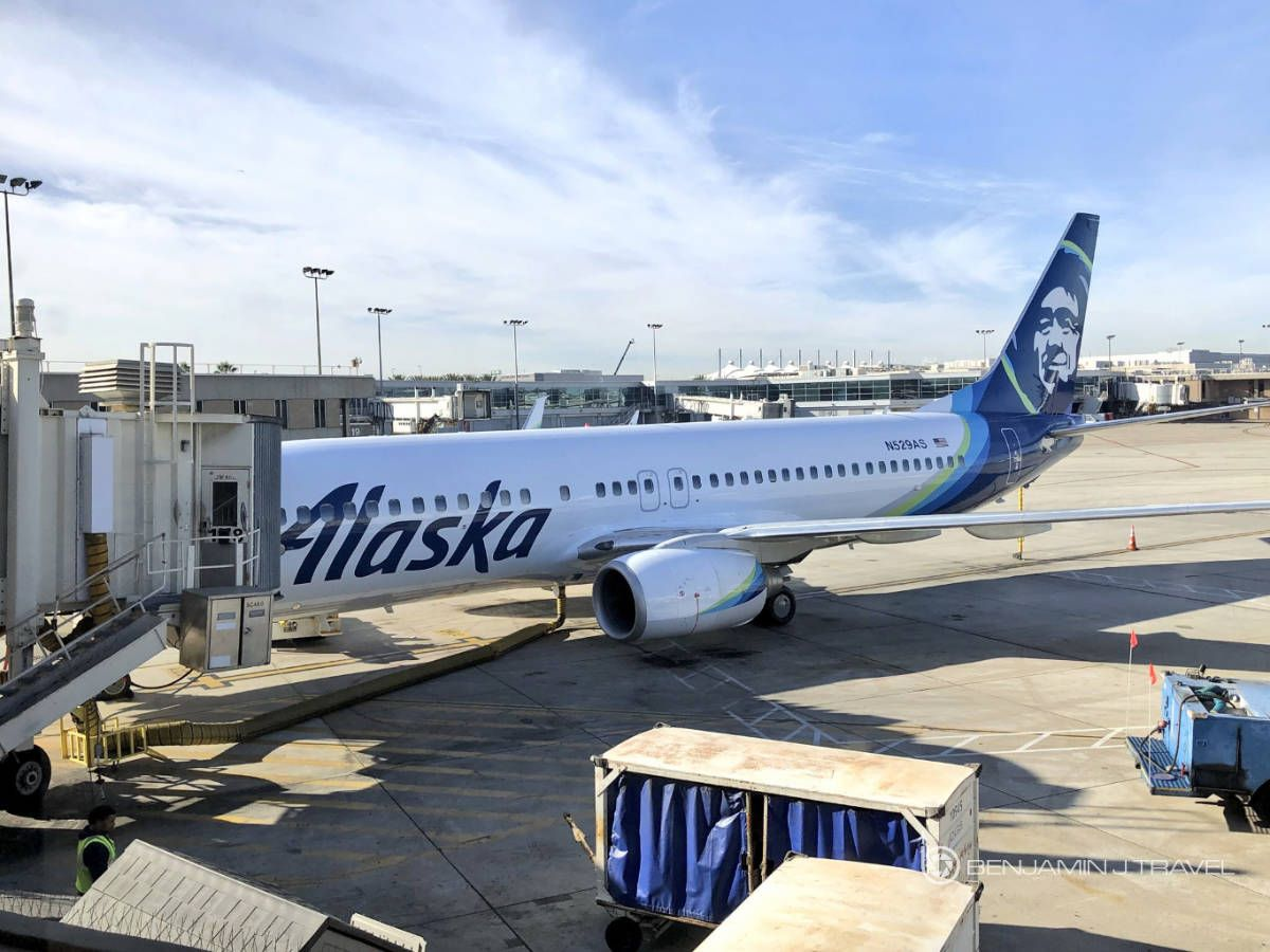 Trip Report Alaska Airlines 737800 Economy Class