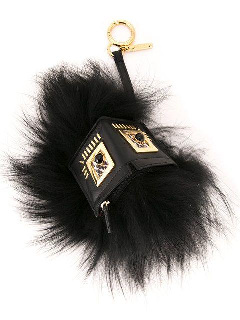 FENDI Monster keyring. #fendi #bags #fur #