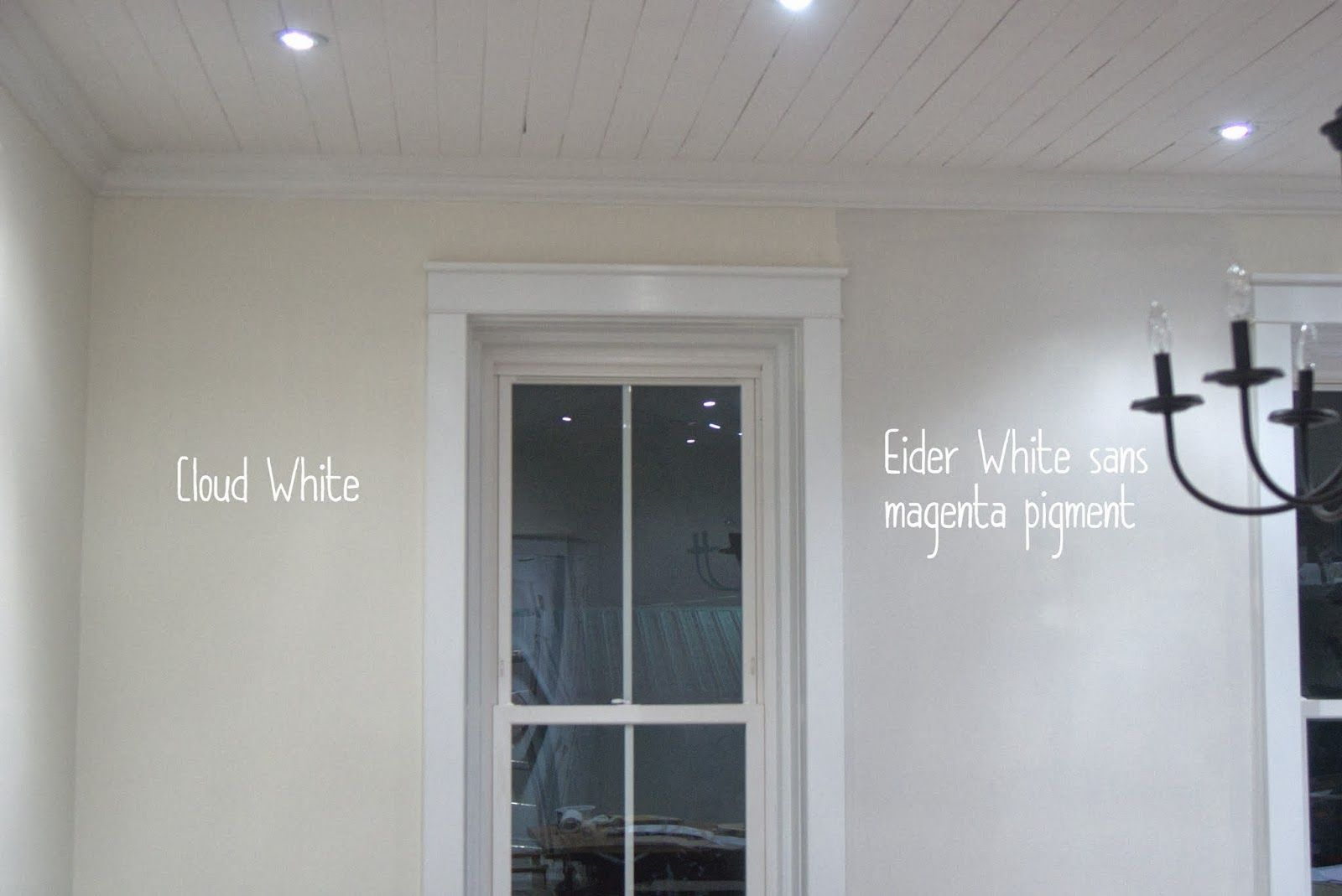 Eider White For Living Room Walls Cloud White For