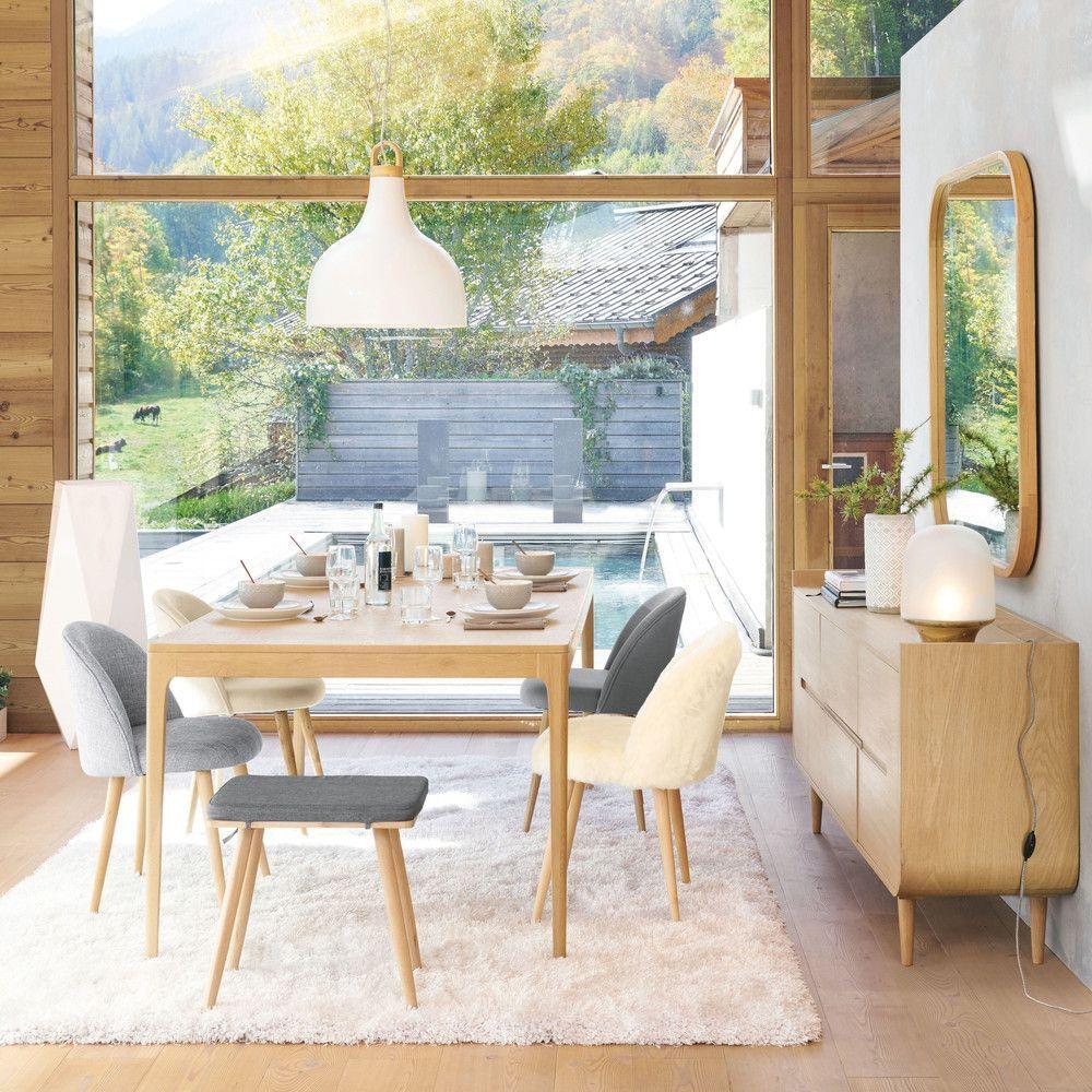 hoher esstisch für 4-6 personen, l200 | maisons du monde
