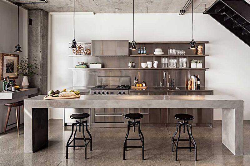 Industrieel Keuken Bar : Pin van hannah moerman op kitchen keuken aanrecht