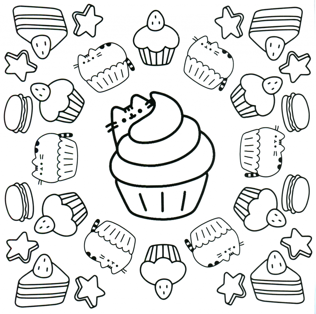 Pusheen Coloring Pages Best Coloring Pages For Kids Cupcake Coloring Pages Pusheen Coloring Pages Free Coloring Pages