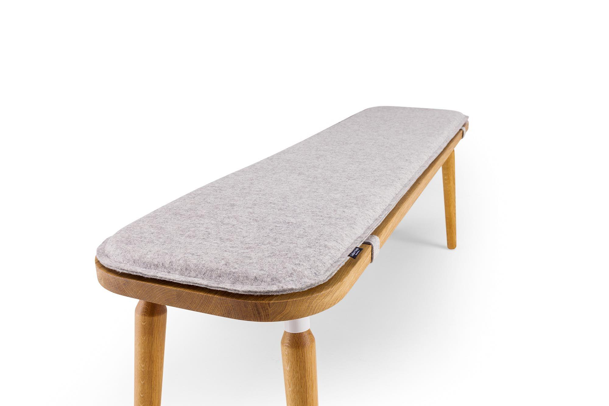 Bank Linda Massivholz Bank Mit Auflage Goldau Noelle Manufaktur Furniture Bench Designs Wood Design
