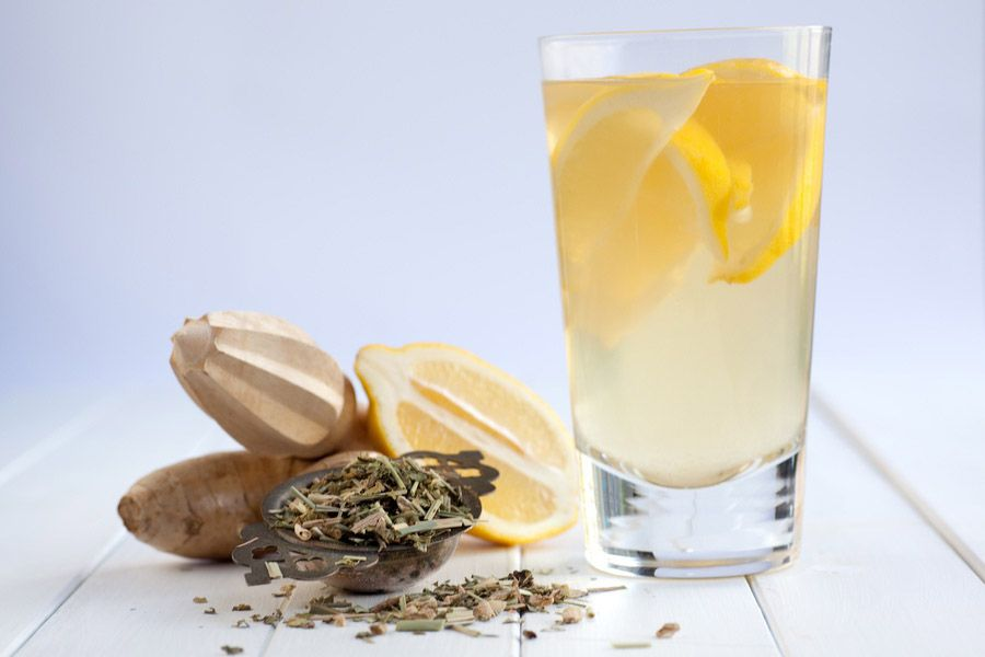 Lemon Aid Teajito Myfoodbook With The Rabbit Hole Recipe Lemon Organic Lemon Easy To Make Cocktails