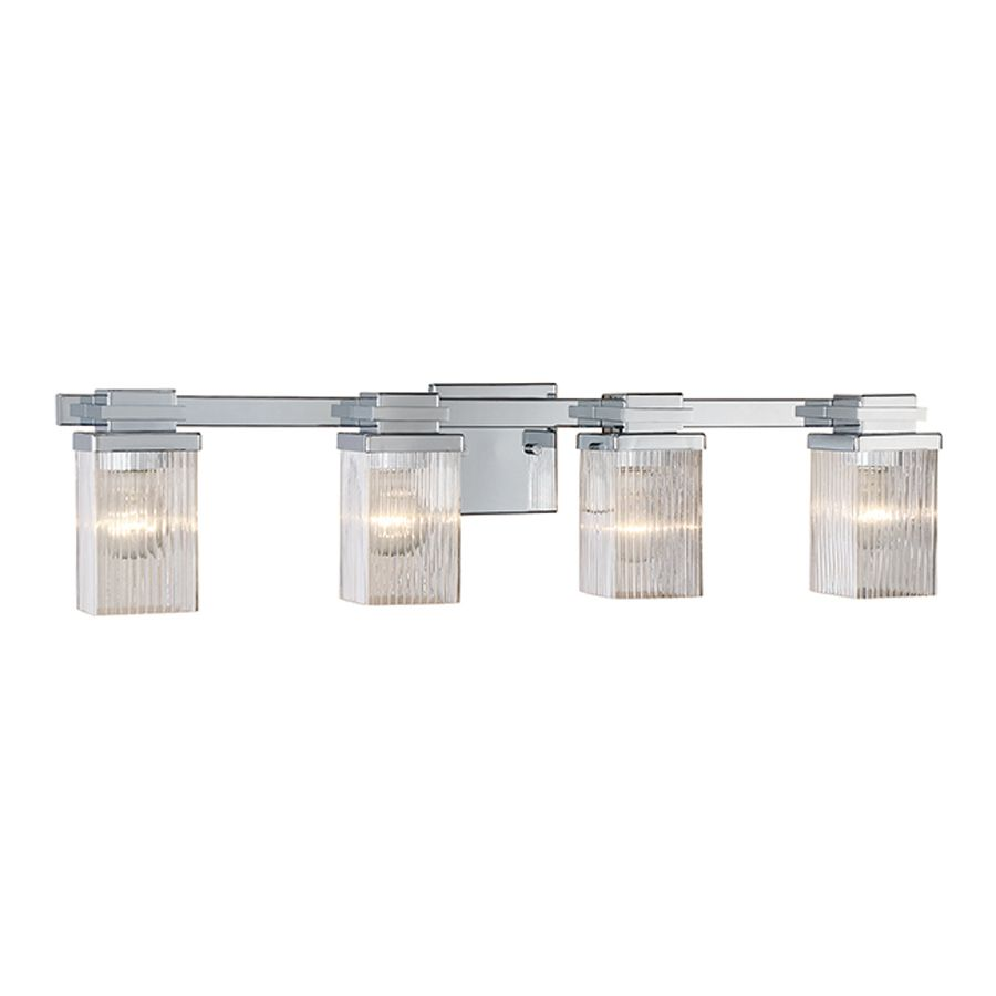 Bathroom Vanity Lights Pinterest millennium lighting 4-light chrome bathroom vanity light