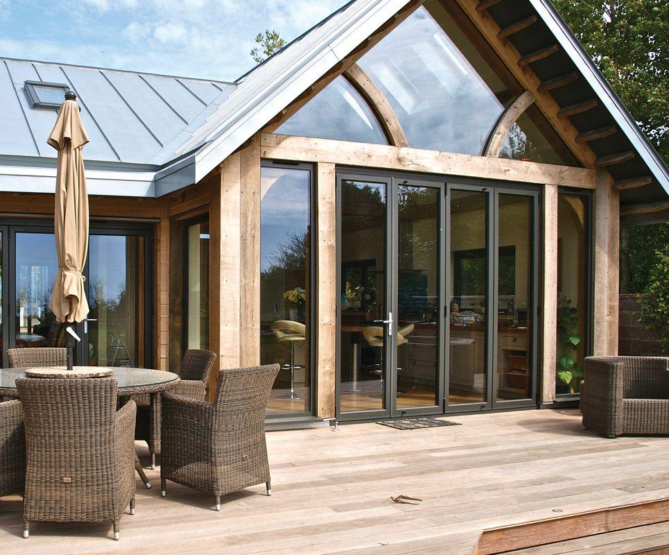 aluminium bifold doors - Google Search | House | Pinterest | Doors ...