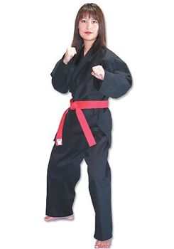 Poly/Cotton Beginner's Karate Uniform - The TC2000 line of fine 6 oz. fabrics and beautiful colors you've never seen in a light weight uniform with the lowest price!!! Made of durable poly/cotton for a wrinkle-free finish. Traditionally styled with elastic waist and drawstring pants. Sold in sets with white belt. All tops are available separately. - $20.50+