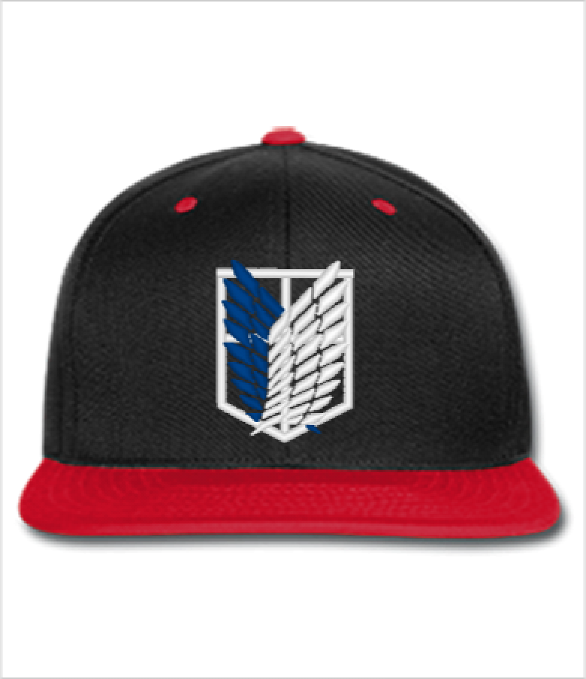 1d1784caae3 ATTACK ON TITAN embroidery hat - Snapback Hat