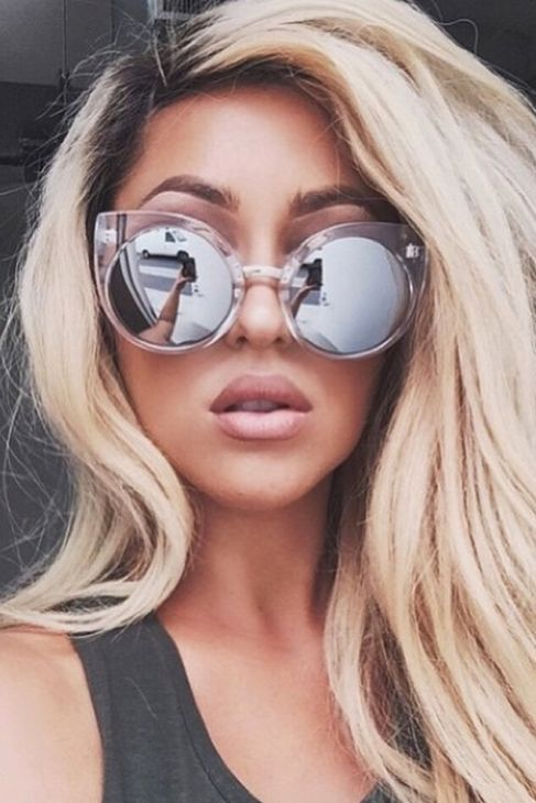 Quay Eyeware China Doll Sunglasses in Clear