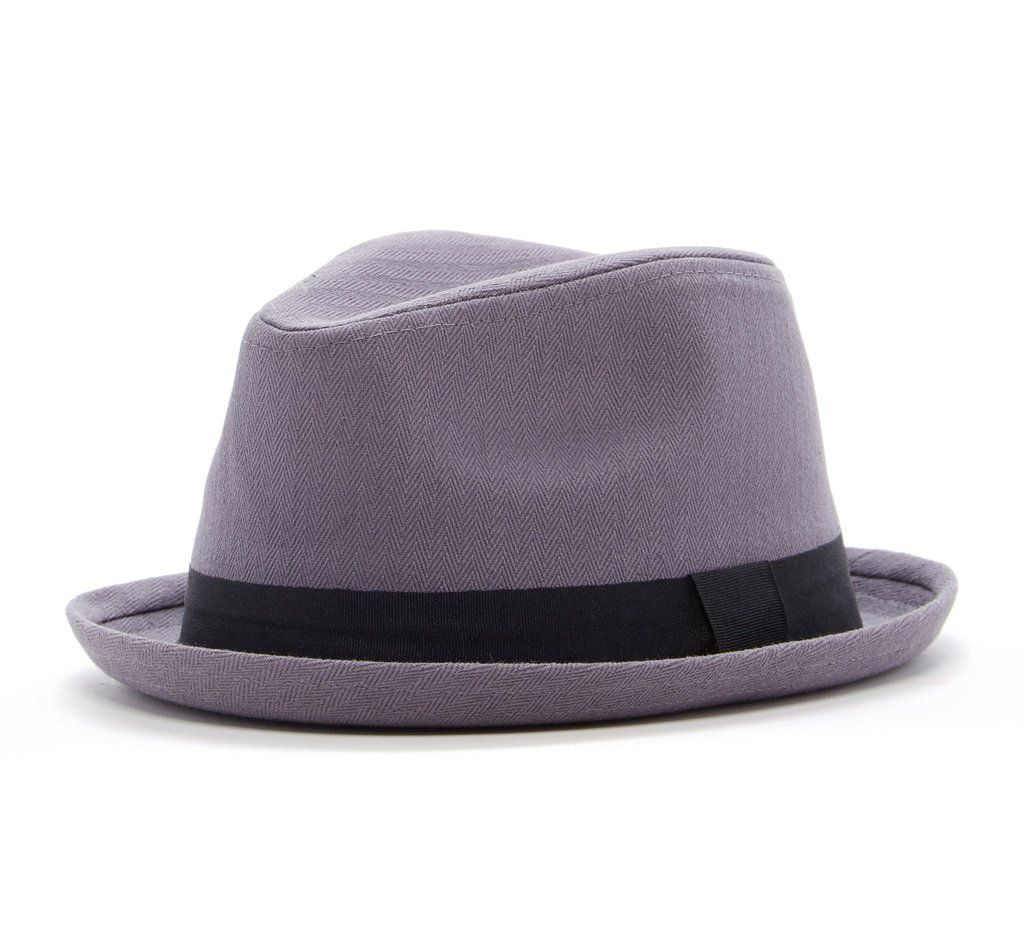 1f9be3a274381 Knuckleheads Gray Fedora with Black Band – Born To Love Clothing Love  Clothing