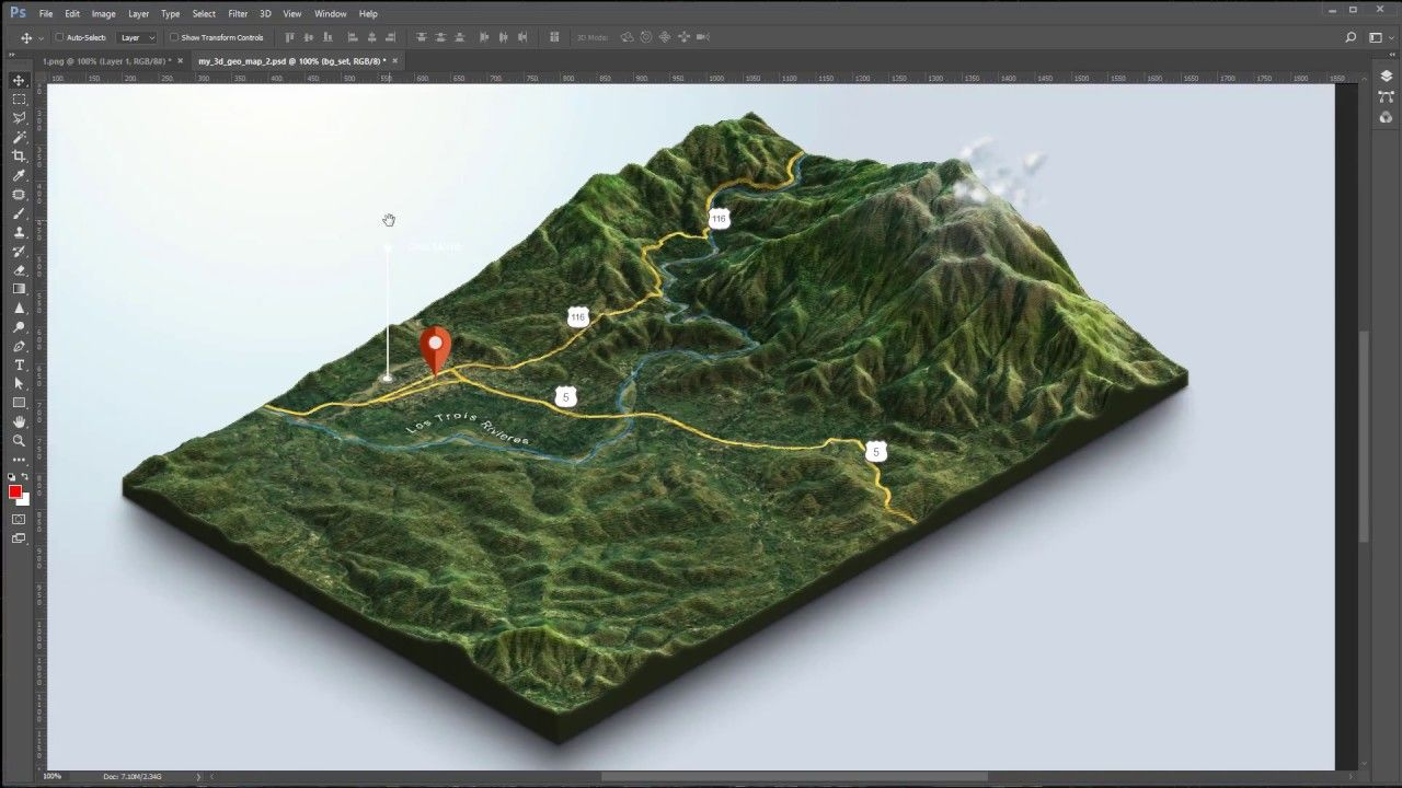From Google Maps And Heightmaps To 3d Terrain 3d Map Generator