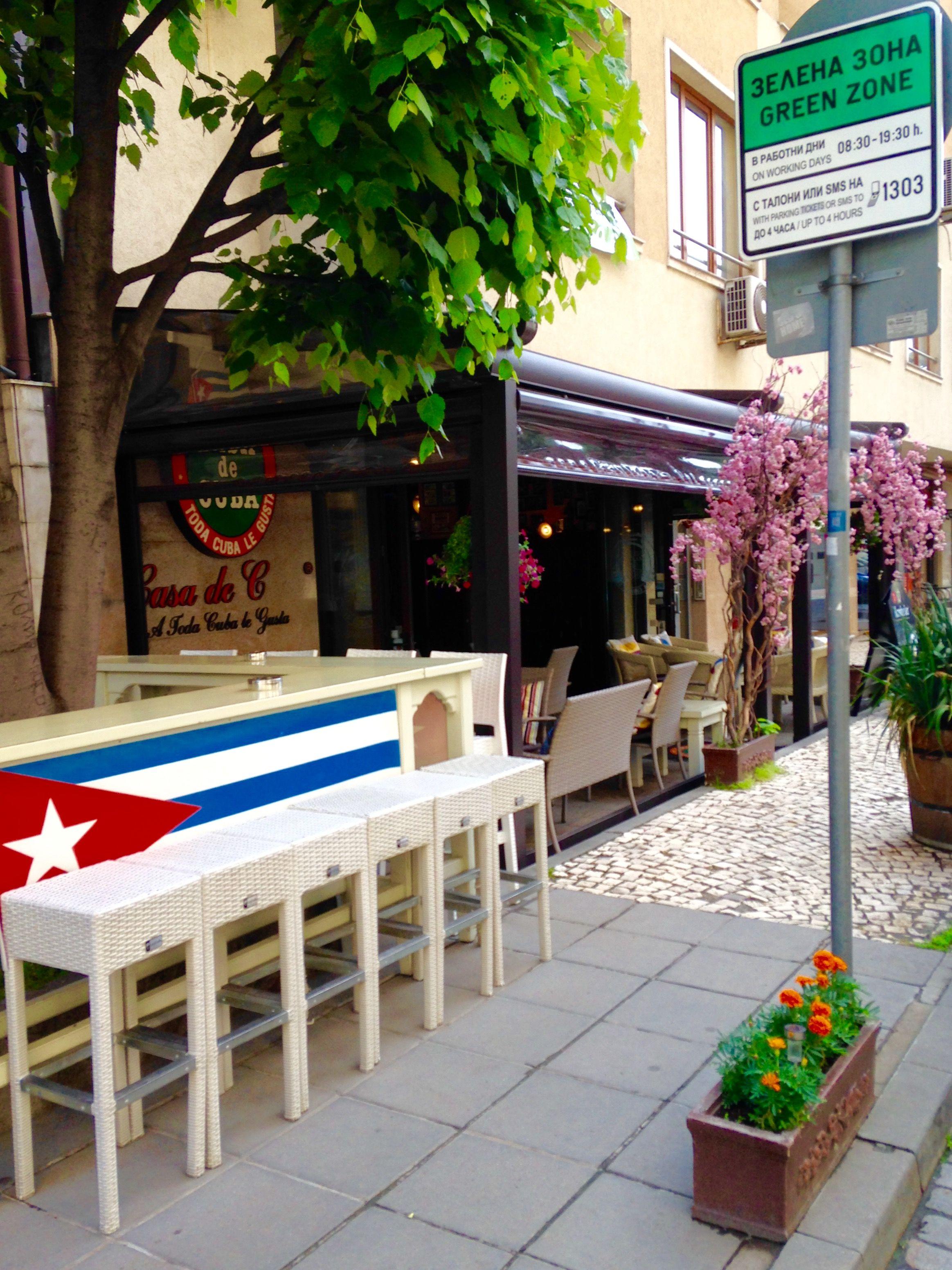 Casa De Cuba, площад Хелзинки, ул. Цветна градина 1