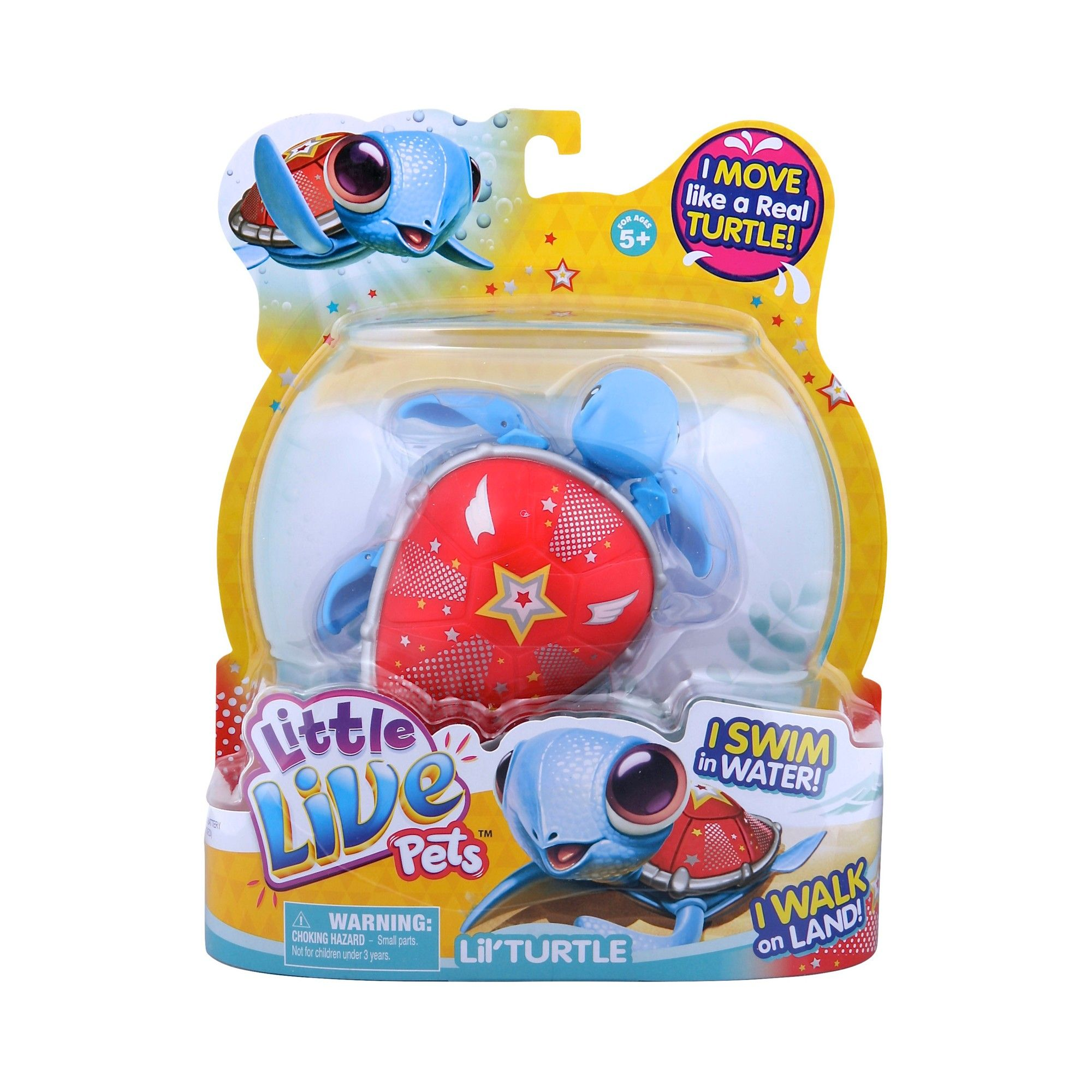 Little Live Pets Lil' Turtle Super Star Little live