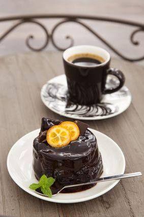 Coffee and Chocolate Mini Cake