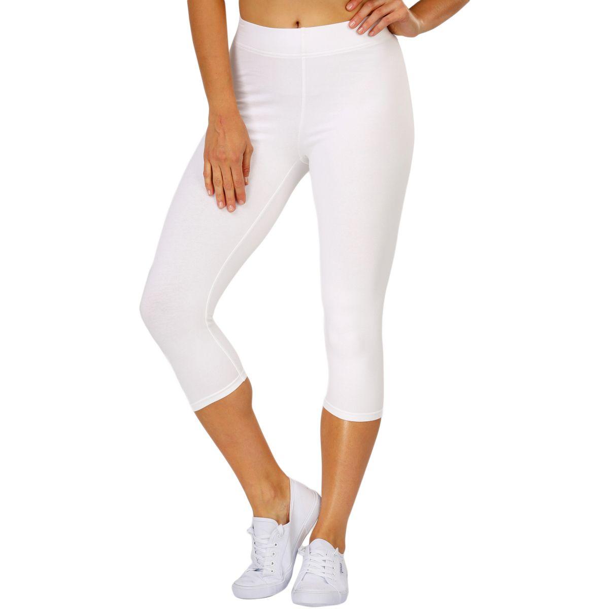 B Collection Women S Crop Legging White Big W Leggings Are Not Pants Cropped Leggings Pants For Women