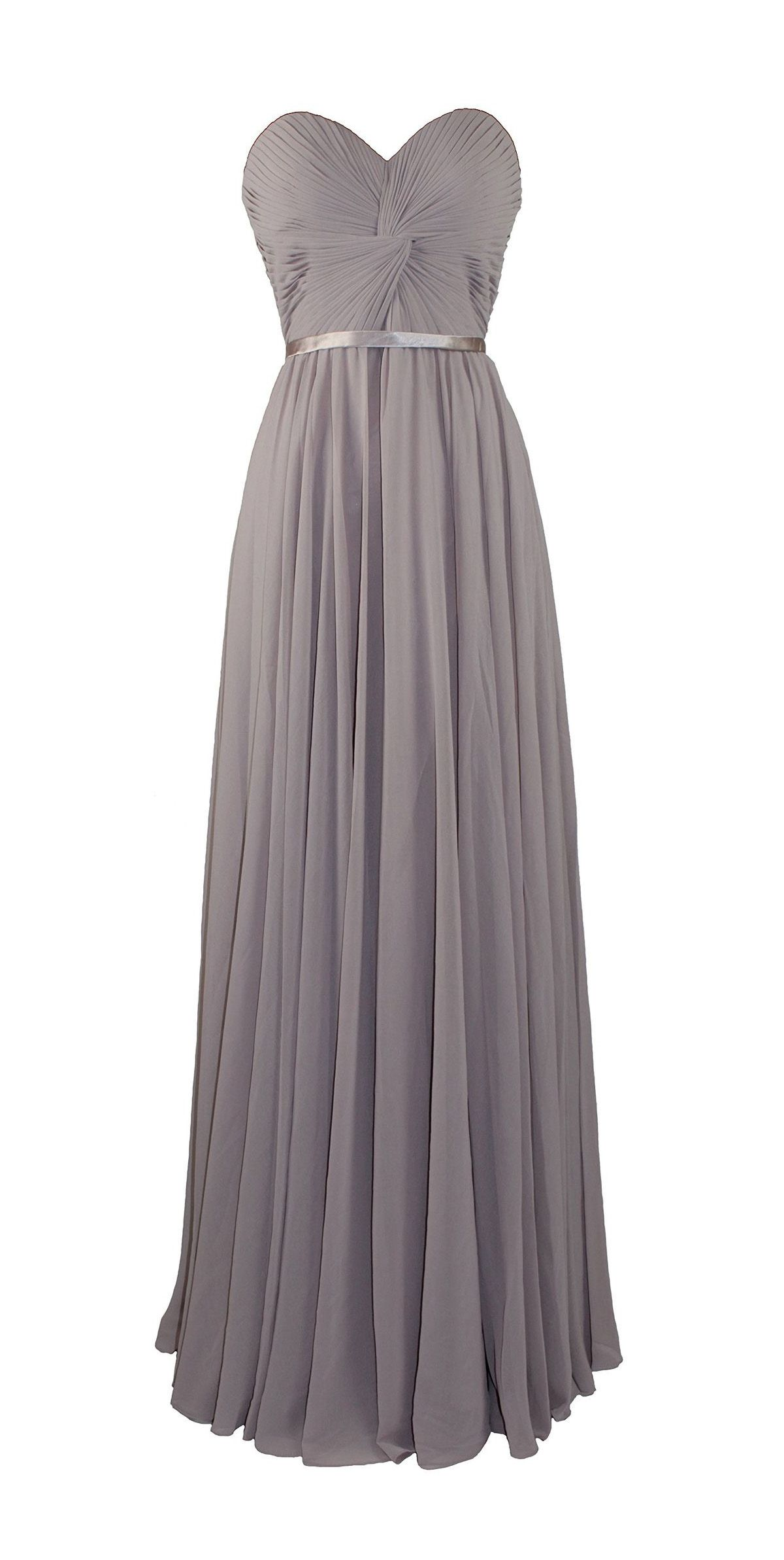 Pleated Prom Dress