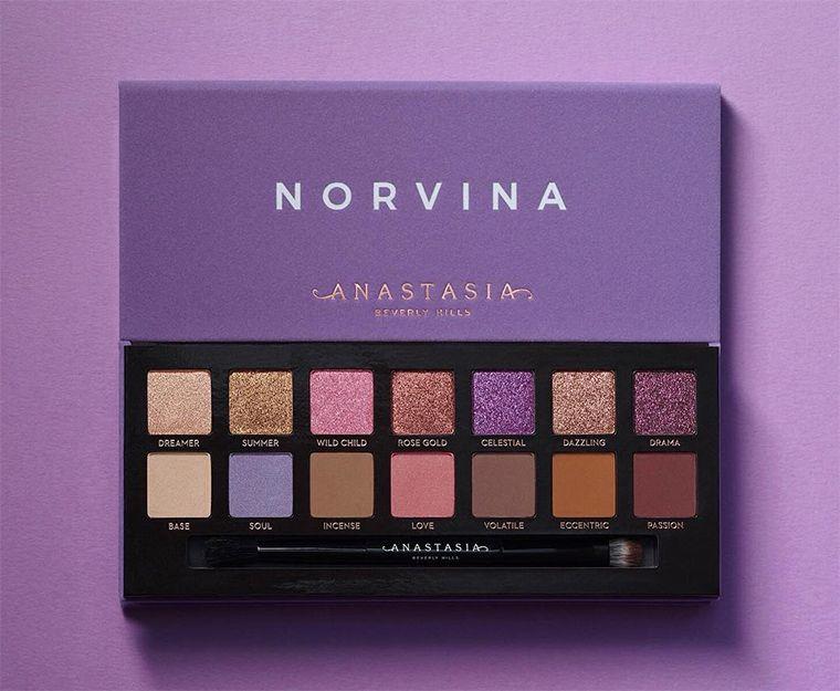 Anastasia Norvina Eyeshadow Palette Release Date Official Swatches Anastasia Makeup Eyeshadow Anastasia Beverly Hills Eyeshadow