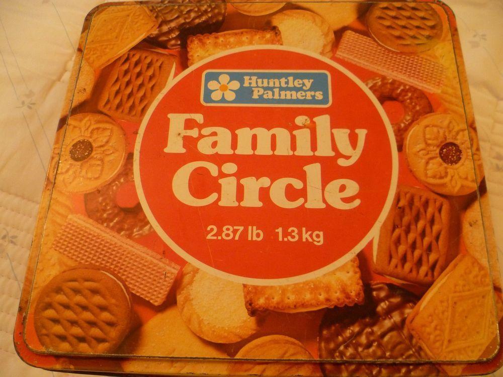 Huntley U0026 Palmers Family Circle Biscuit Selection Storage Tin | EBay