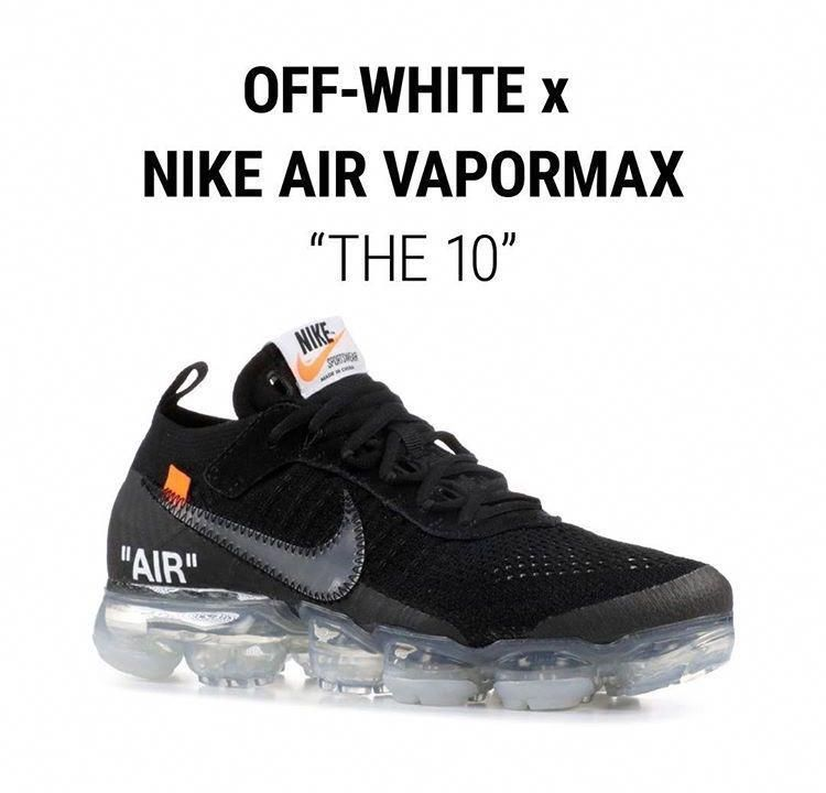 2c6ba1c7 3 colors Off-White x Nike Vapormax Collection from kicks-vogue.com ...