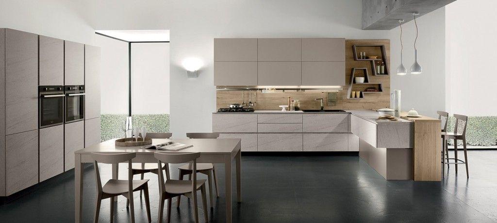 Torchetti Cucine Moderne.Torchetti New Vega Cucina Con Penisola Nel 2019 Cucine