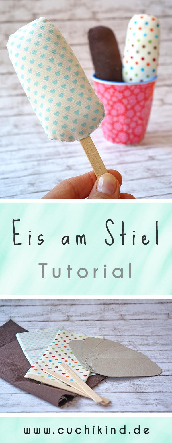 tutorial stoff eis am stiel blog cuchikind pinterest n hen wolle kaufen und stoffe. Black Bedroom Furniture Sets. Home Design Ideas