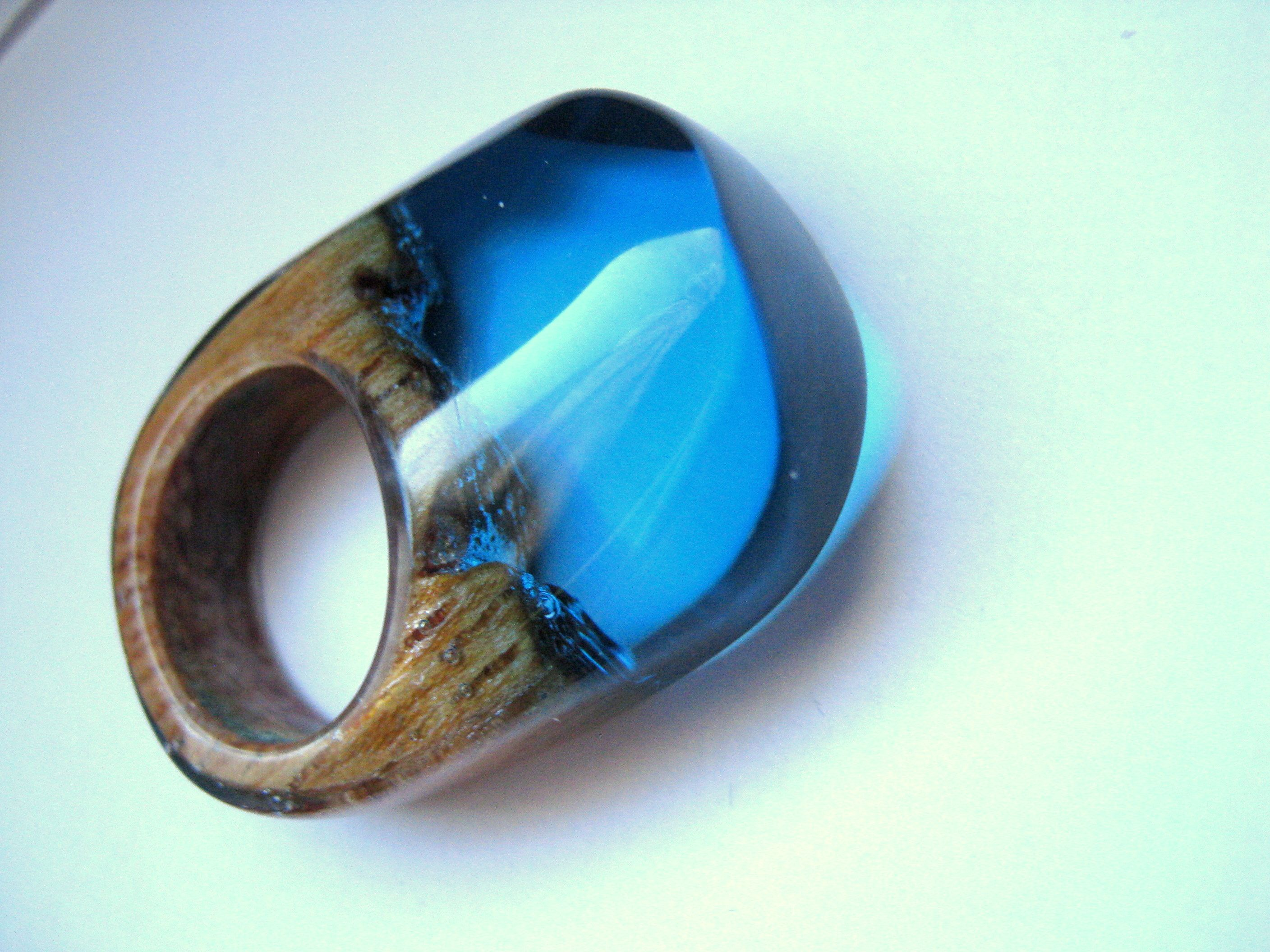 Ringe Basteln Polyester Acrylic Resin And Wood Atelier De Jade Resin