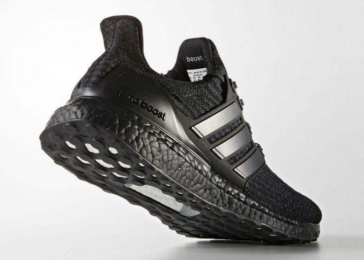 new style 311f1 20d6c Best Sneakers   adidas Ultra Boost 3 0 Triple Black-4 -  Sneakers
