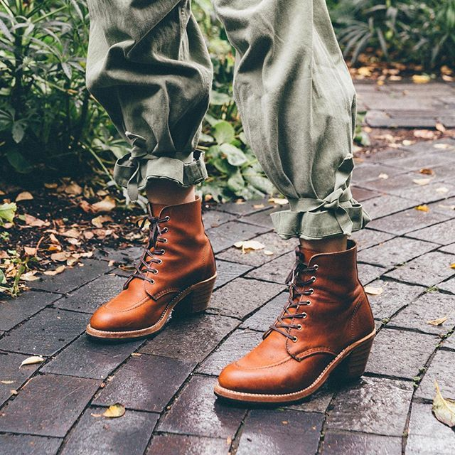 cd21610ced5 WEBSTA @ redwingheritagewomen - A strong feminine take on the Red ...