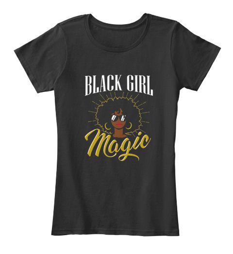 3d657edf5 Natural Hair Afro Strong Queen Shirt | Black magic girl T-shirt ...