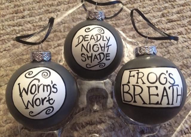 Night Before Christmas Ornaments