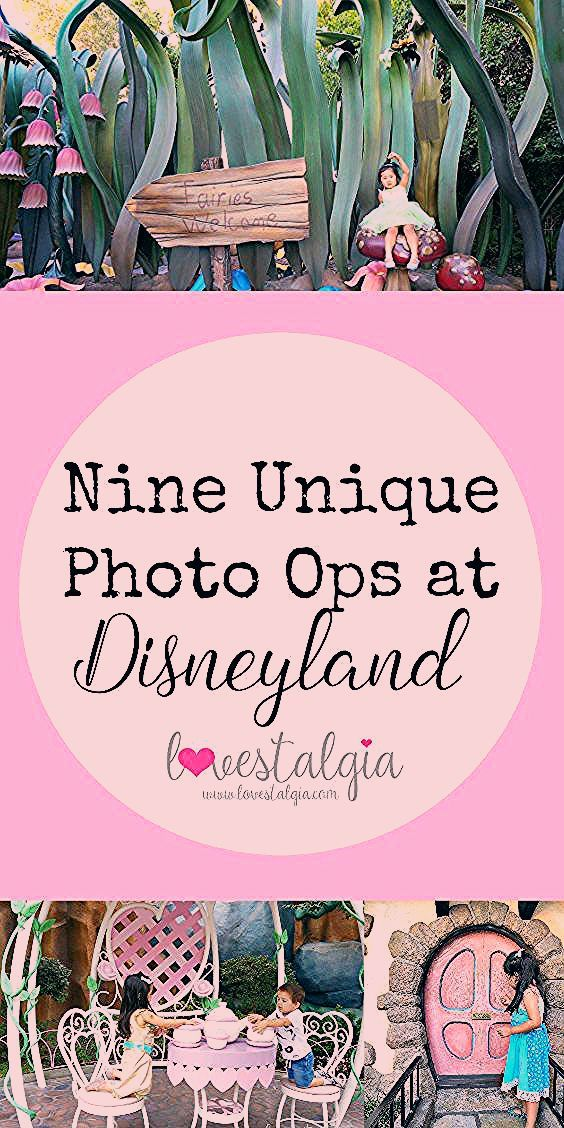 Photo of Nine Unique Photo Ops at Disneyland « lovestalgia