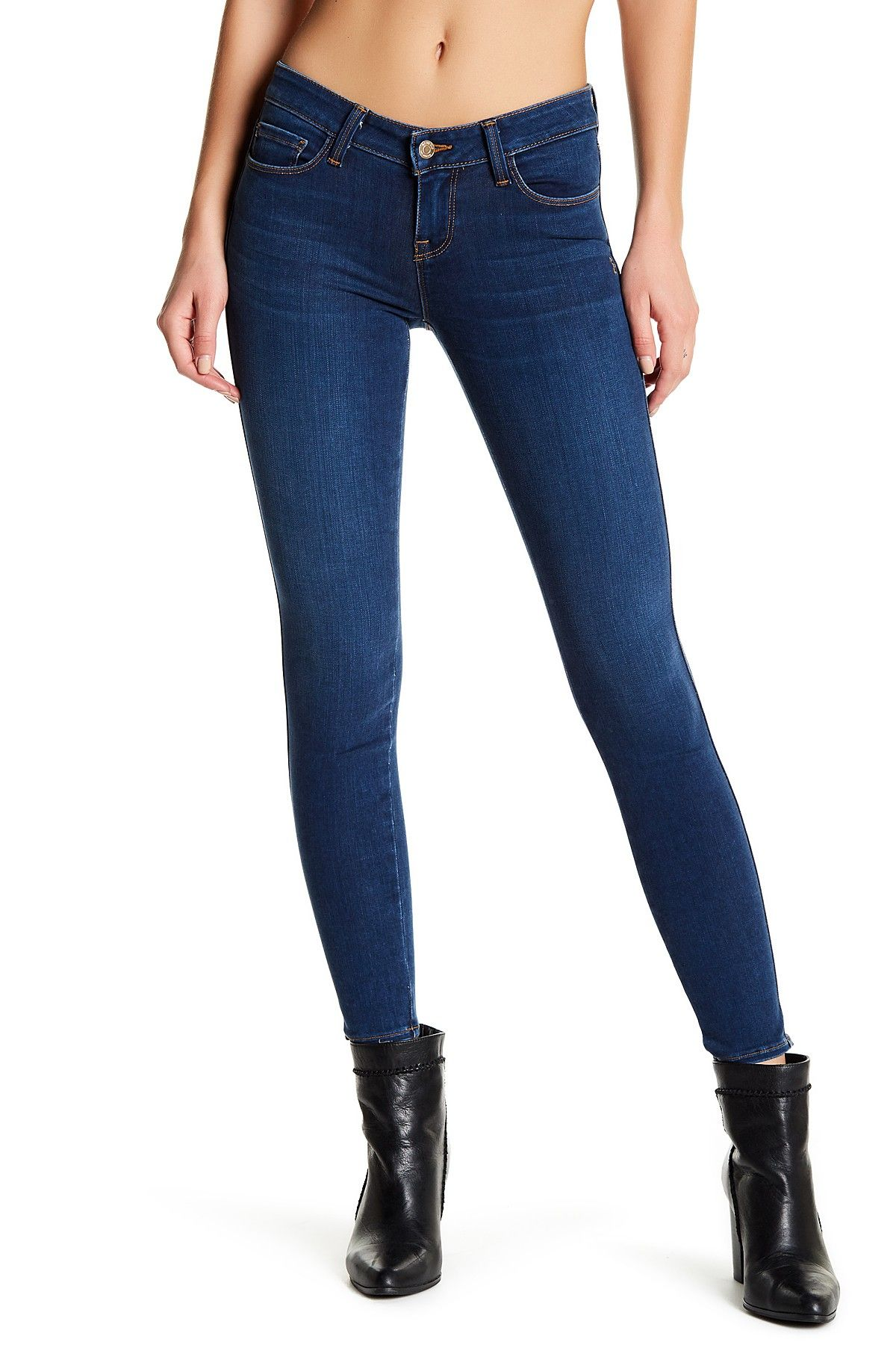 Fashion style High Crawford waist skinny jeans for woman