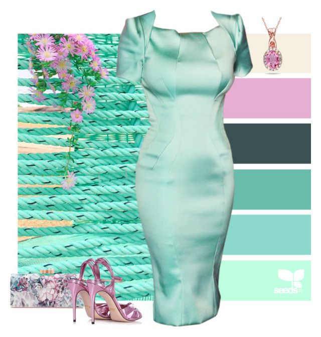 """""""Hammock"""" by alara-cary ❤ liked on Polyvore featuring Ted Baker, Gucci and Ice"""