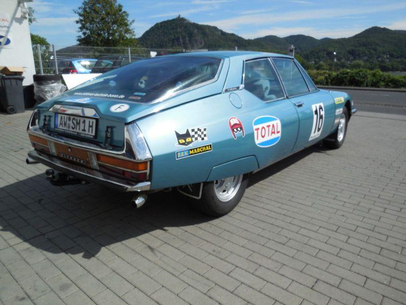 1972 Citron Sm Rally Car Citroen Sm Pinterest Rally Car