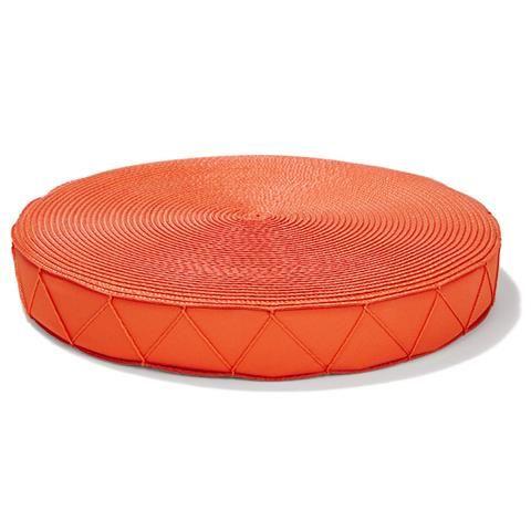 Outdoor Round Chair Pad   Orange   Kmart