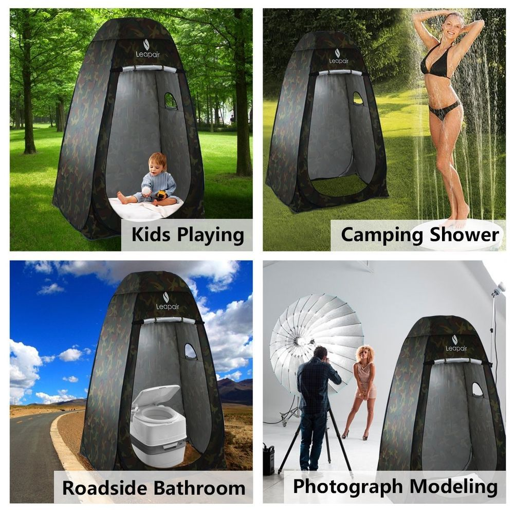 Wolfwise Dressing Tent Shower Privacy Portable Camping Beach Toilet Pop Up Tents Wolfwise Beach Tent Glamping Tent Hiking Tent