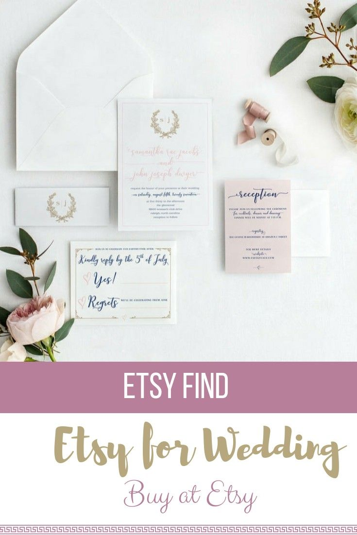 Wedding invitations Etsy #wedding #affiliate #design | weddings ...