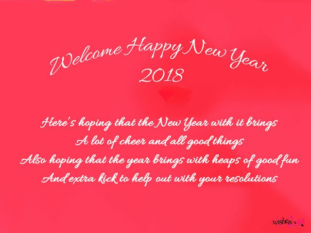 poetry and worldwide wishes happy new year greetings cards 2018 with quotes