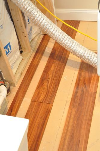 How To Install A Floating Laminate Floor Diy Flooring