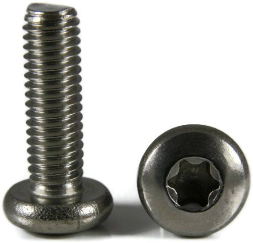 1//4-20 x 1-1//4 Qty-25 Torx w//Pin Tamper Proof Security T-27 Button Cap Screw 18-8 Stainless Steel