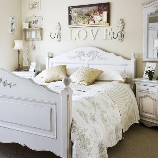 Décoration chambre blanche | My style | Pinterest | Shabby, Bedrooms ...