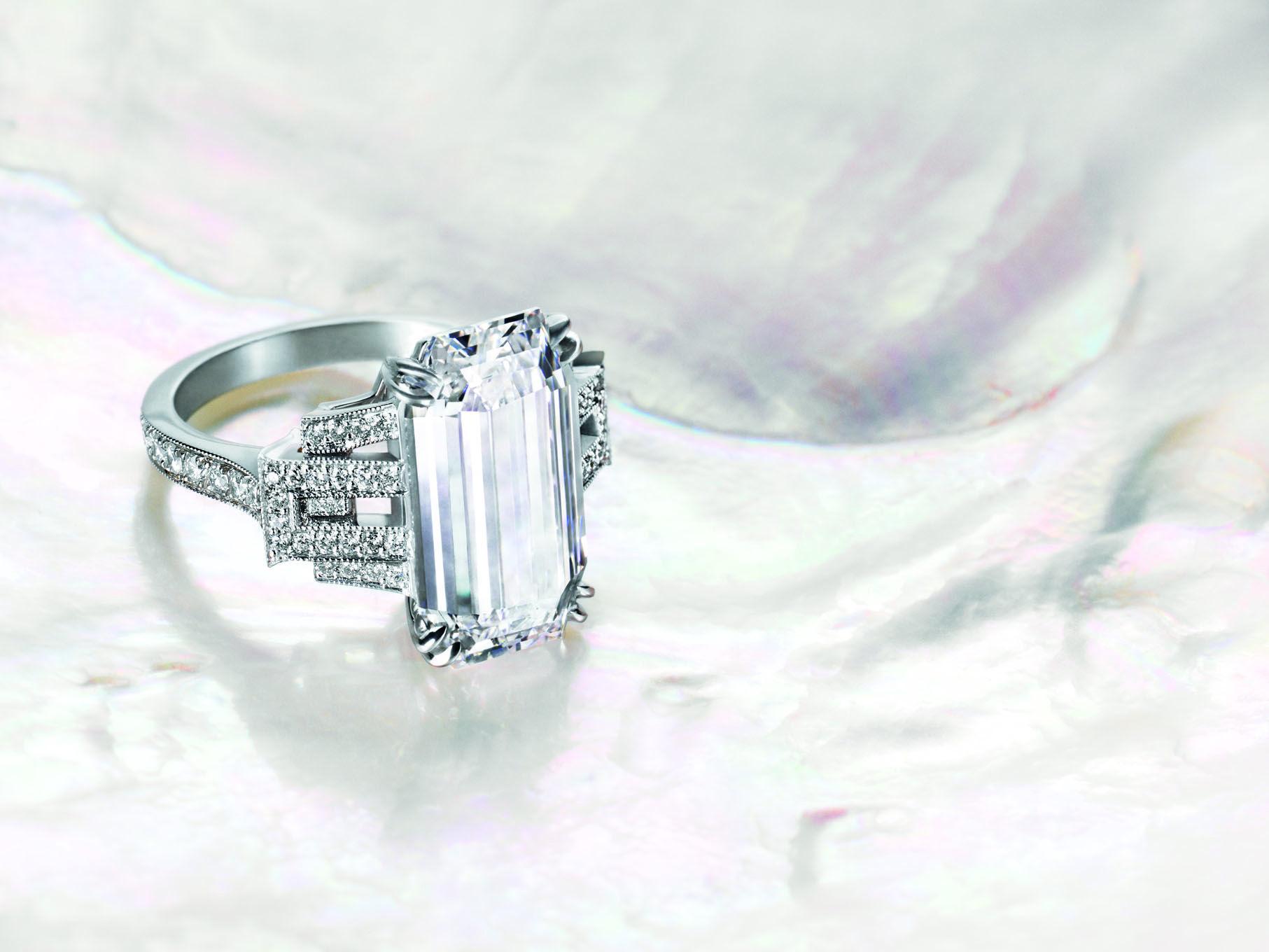 Ivanka Trump Emerald Cut Diamond Pagoda Ring Ahhhhhh My Style