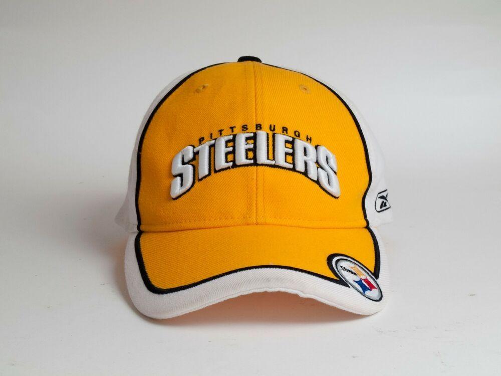 20951614b Pittsburgh Steelers NFL Reebok Adjustable Hat Cap #fashion #clothing ...