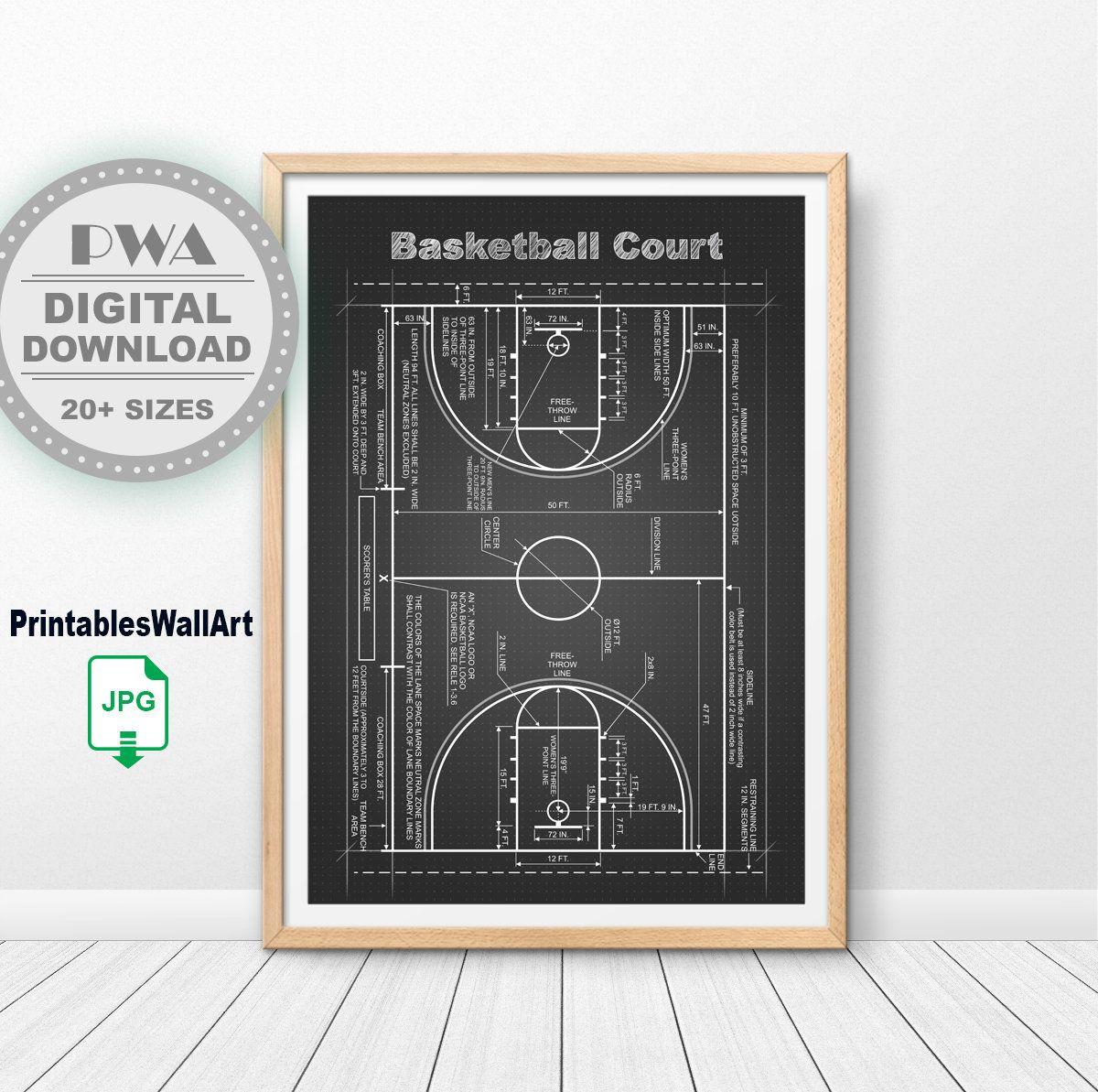 NBA Basketball Set Of 4 Patent Prints Basketball Coach Gift Basketball Art Hoops Decor Basketball Player Gift Boys Room Decor
